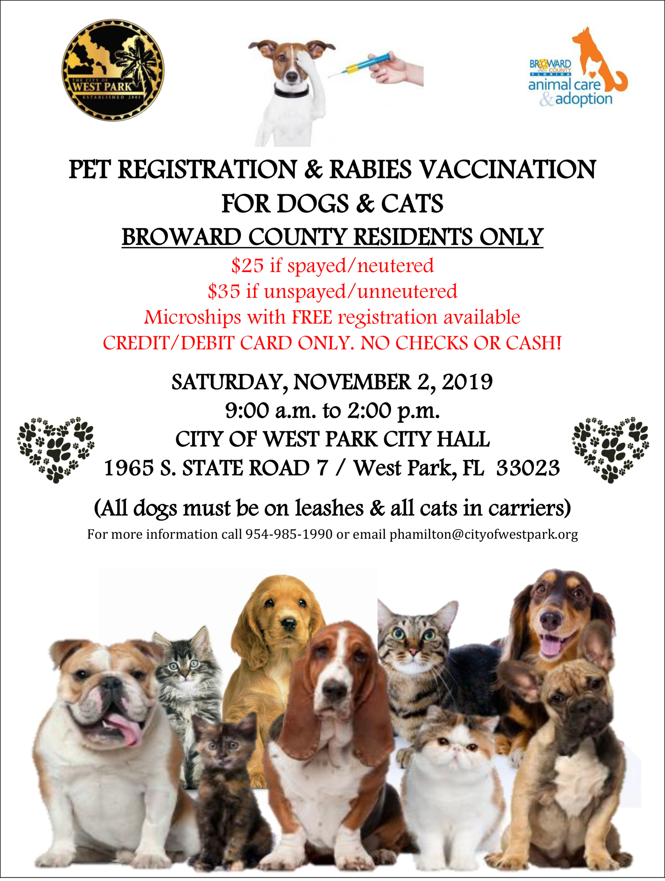 PET VACCINATION CLINIC