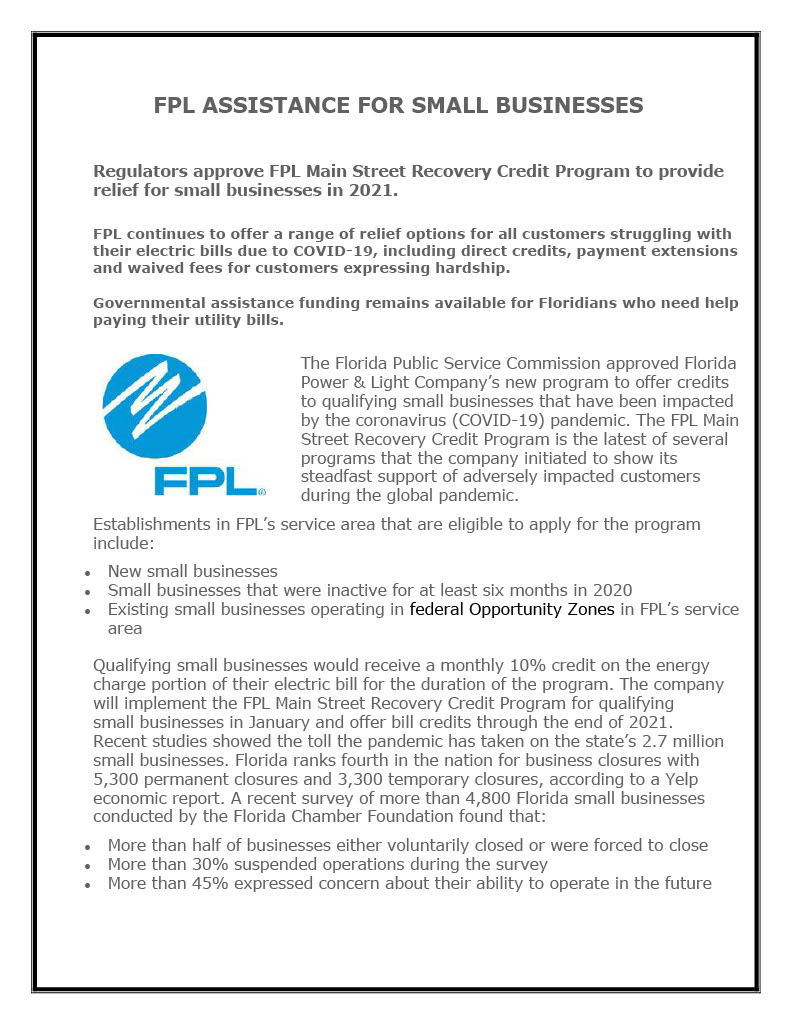 PUBLIC NOTICE - FPL RELIEF TO SMALL BUSINESSES - 01-2021.pdf